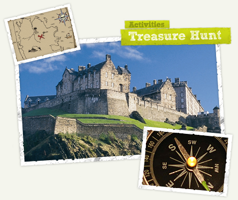 Edinburgh Old Town Treasure Hunt